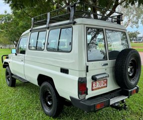 1996 Toyota Landcruiser HZJ75RV Troopcarrier White 5 Speed Manual Hardtop