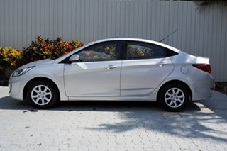 2013 Hyundai Accent RB Active Silver 5 Speed Manual Sedan