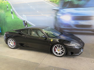 2004 Ferrari 360 Modena Black 6 Speed Manual F1 Shift Coupe.