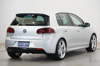 2010 Volkswagen Golf VI MY10 R DSG 4MOTION Silver 6 Speed Sports Automatic Dual Clutch Hatchback