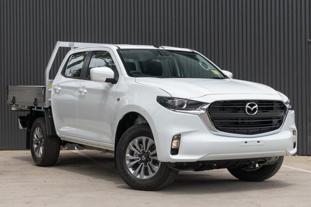 Demo Mazda BT-50 TFS40J XT Mornington, 2020 Mazda BT-50 TFS40J XT Ice White 6 Speed Manual Utility
