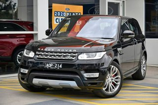 2017 Land Rover Range Rover Sport L494 17MY HSE Black 8 Speed Sports Automatic Wagon