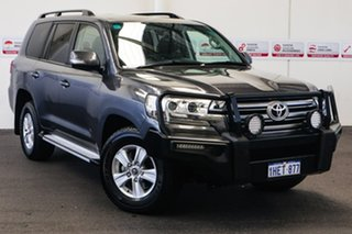 2015 Toyota Landcruiser VDJ200R GXL Graphite 6 Speed Sports Automatic Wagon.