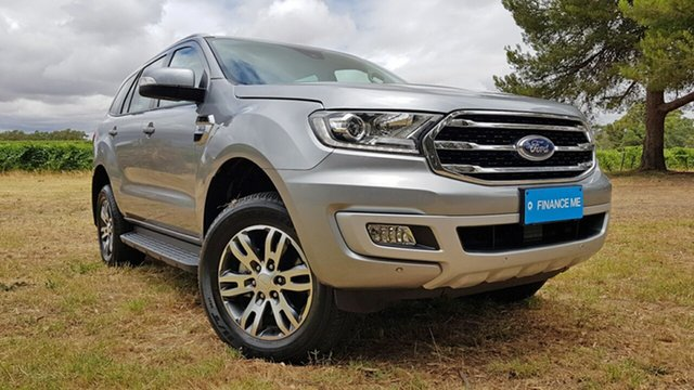Used Ford Everest UA II 2019.75MY Trend Nuriootpa, 2019 Ford Everest UA II 2019.75MY Trend Aluminium 6 Speed Sports Automatic SUV