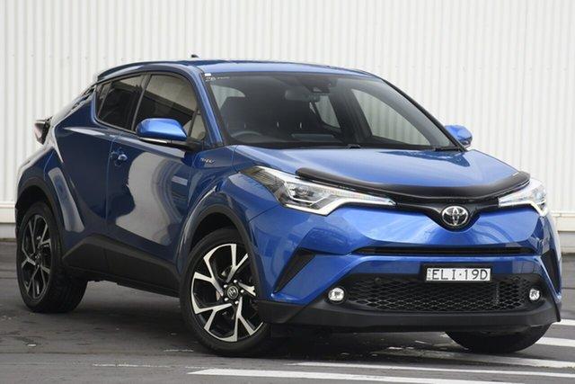 Used Toyota C-HR NGX10R Koba S-CVT 2WD Wollongong, 2017 Toyota C-HR NGX10R Koba S-CVT 2WD Blue 7 Speed Constant Variable Wagon