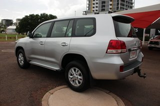 2010 Toyota Landcruiser VDJ200R MY10 GXL Silver Pearl 6 Speed Automatic Wagon
