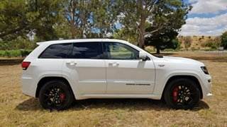 2016 Jeep Grand Cherokee WK MY16 SRT Night Edition White 8 Speed Sports Automatic Wagon