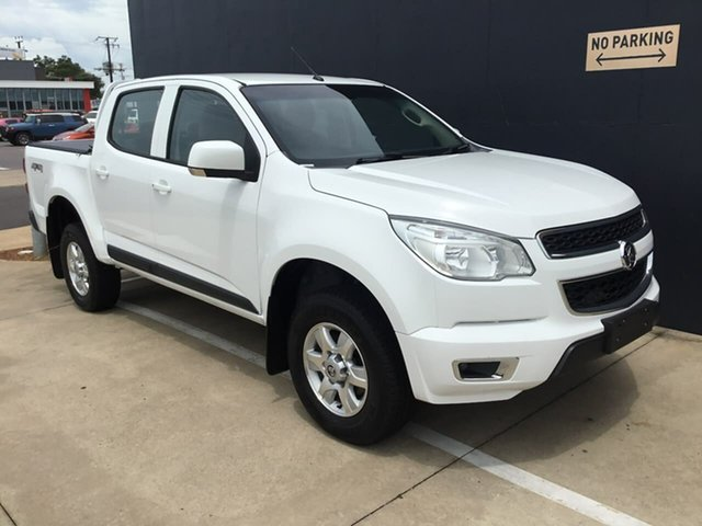 Used Holden Colorado RG MY15 LT Crew Cab Stuart Park, 2015 Holden Colorado RG MY15 LT Crew Cab White 6 Speed Manual Utility