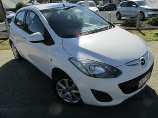 2013 Mazda 2 DE10Y2 MY14 Neo Sport White 4 Speed Automatic Hatchback.