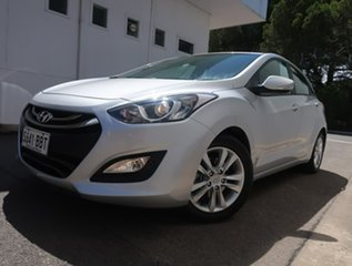 2014 Hyundai i30 GD2 MY14 SE Silver 6 Speed Sports Automatic Hatchback.