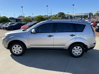2007 Mitsubishi Outlander ZG LS Silver 6 Speed CVT Auto Sequential Wagon