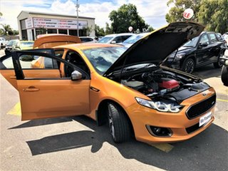 2014 Ford Falcon FG X XR6 Turbo Orange 6 Speed Sports Automatic Sedan