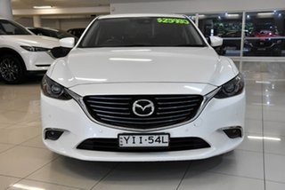 2017 Mazda 6 GL1031 Touring SKYACTIV-Drive White 6 Speed Sports Automatic Sedan