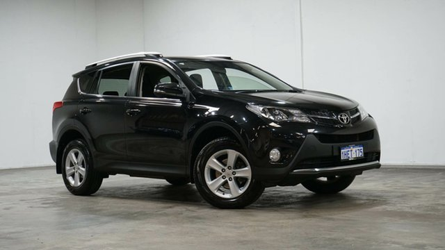 Used Toyota RAV4 ASA44R MY14 GXL AWD Welshpool, 2014 Toyota RAV4 ASA44R MY14 GXL AWD Black 6 Speed Sports Automatic Wagon