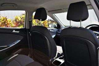 2013 Hyundai Accent RB Active Silver 5 Speed Manual Sedan