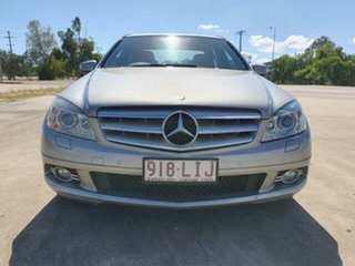 2008 Mercedes-Benz C-Class W204 C200 Kompressor Avantgarde Cubanite Silver 5 Speed Sports Automatic.