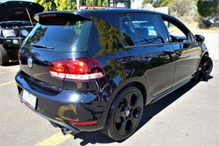 2012 Volkswagen Golf VI MY13 GTI DSG Black 6 Speed Sports Automatic Dual Clutch Hatchback.