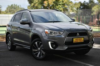 2014 Mitsubishi ASX XB MY14 Aspire 2WD Grey 6 Speed Constant Variable Wagon.