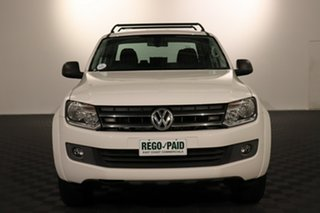 2016 Volkswagen Amarok 2H MY16 TDI420 4MOTION Perm Core Plus Candy White 8 speed Automatic Utility.