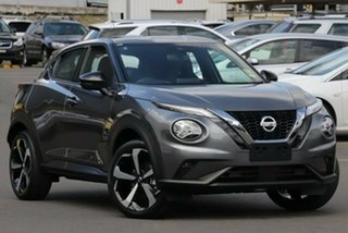 2020 Nissan Juke F16 ST-L DCT 2WD Gun Metallic 7 Speed Sports Automatic Dual Clutch Hatchback.