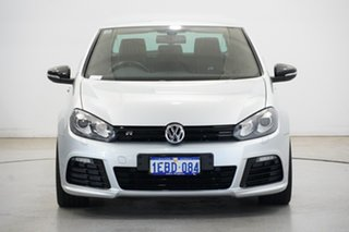 2010 Volkswagen Golf VI MY10 R DSG 4MOTION Silver 6 Speed Sports Automatic Dual Clutch Hatchback.