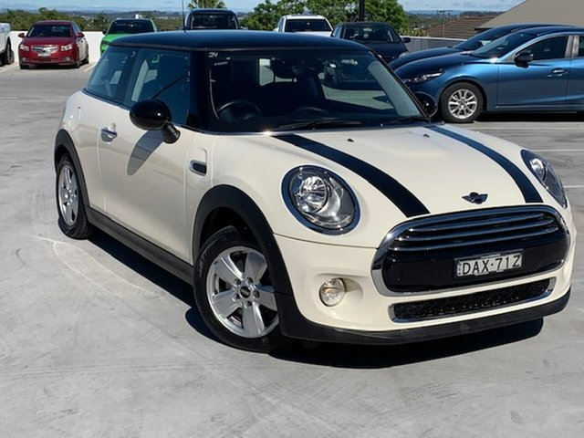 Used Mini Hatch F56 One Liverpool, 2015 Mini Hatch F56 One White 6 Speed Automatic Hatchback