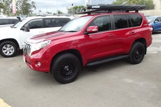 2016 Toyota Landcruiser Prado GDJ150R GXL Red 6 Speed Sports Automatic Wagon.