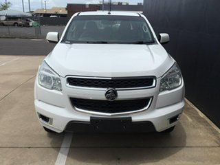 2015 Holden Colorado RG MY15 LT Crew Cab White 6 Speed Manual Utility.
