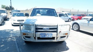 2008 Ford Ranger PJ XL Crew Cab White 5 Speed Automatic Utility.