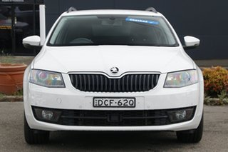 2015 Skoda Octavia NE MY16 Ambition DSG 110TSI White 7 Speed Sports Automatic Dual Clutch Wagon