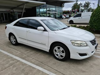 2009 Toyota Aurion GSV40R AT-X White 6 Speed Sports Automatic Sedan.