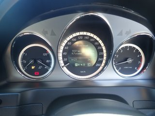 2009 Mercedes-Benz C-Class W204 C200 Kompressor Avantgarde Grey Mist 5 Speed Sports Automatic Sedan