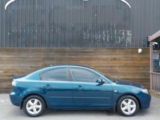 2007 Mazda 3 BK10F2 Maxx Blue 4 Speed Sports Automatic Sedan.