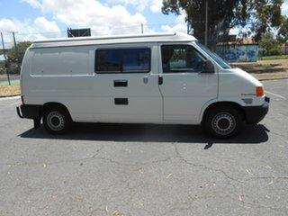1996 Volkswagen Transporter T4 MY97 White 5 Speed Manual Van.