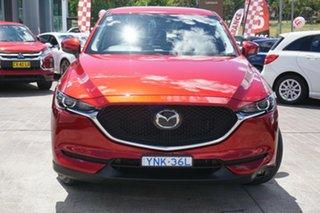 2018 Mazda CX-5 KF4WLA Maxx SKYACTIV-Drive i-ACTIV AWD Red 6 Speed Sports Automatic Wagon.