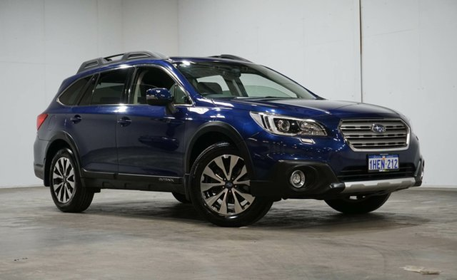 Used Subaru Outback B6A MY16 2.5i CVT AWD Premium Welshpool, 2016 Subaru Outback B6A MY16 2.5i CVT AWD Premium Blue 6 Speed Constant Variable Wagon
