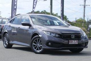 2019 Honda Civic 10th Gen MY19 VTi-S Modern Steel 1 Speed Constant Variable Sedan.