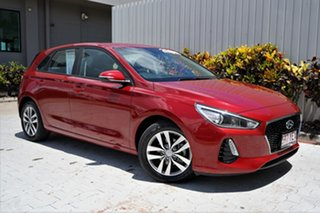 2018 Hyundai i30 PD2 MY18 Active Fiery Red/clot 6 Speed Sports Automatic Hatchback.