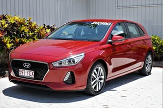 2018 Hyundai i30 PD2 MY18 Active Fiery Red/clot 6 Speed Sports Automatic Hatchback