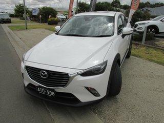 2018 Mazda CX-3 DK2W7A Akari SKYACTIV-Drive White 6 Speed Sports Automatic Wagon.
