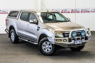2014 Ford Ranger PX XLT 3.2 (4x4) Gold 6 Speed Automatic Double Cab Pick Up.