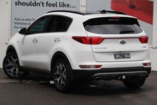 2018 Kia Sportage QL MY18 GT-Line AWD Clear White 6 Speed Sports Automatic Wagon.