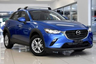 2019 Mazda CX-3 DK2W7A Maxx SKYACTIV-Drive FWD Sport Blue 6 Speed Sports Automatic Wagon.