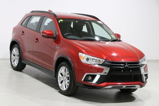 2018 Mitsubishi ASX XC MY19 ES ADAS ( 2WD) Red Continuous Variable Wagon