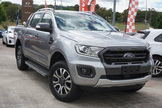 Used Ford Ranger PX MkIII 2019.00MY Wildtrak Phillip, 2019 Ford Ranger PX MkIII 2019.00MY Wildtrak Silver 6 Speed Sports Automatic Double Cab Pick Up