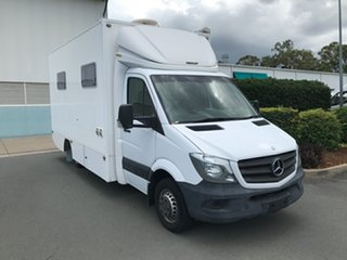 2015 Mercedes-Benz Sprinter NCV3 MY14 519CDI LWB 7G-Tronic White 7 speed Automatic Cab Chassis.