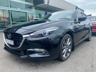 2018 Mazda 3 BN5238 SP25 SKYACTIV-Drive Astina Black 6 Speed Sports Automatic Sedan.
