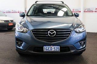 2017 Mazda CX-5 MY17 Maxx Sport (4x2) Blue 6 Speed Automatic Wagon.
