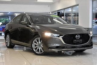 2019 Mazda 3 BP2S7A G20 SKYACTIV-Drive Touring Bronze 6 Speed Sports Automatic Sedan.
