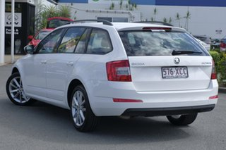 2016 Skoda Octavia NE MY17 Ambition DSG 110TSI Candy White 7 Speed Sports Automatic Dual Clutch.